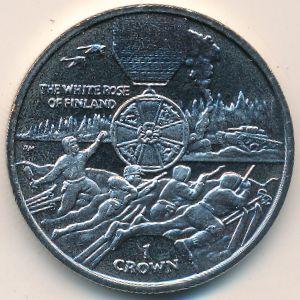 Остров Мэн, 1 крона (2004 г.)