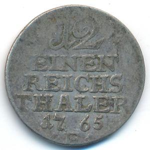 Пруссия, 1/12 талера (1765 г.)