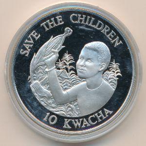 Замбия, 10 квача (1989 г.)