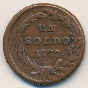 Милан, 1 сольдо (1777 г.)