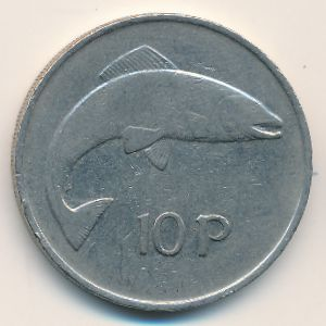 Ирландия, 10 пенсов (1980 г.)