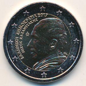 Греция, 2 евро (2017 г.)