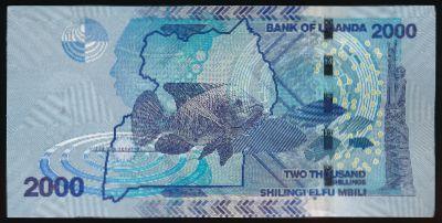 Уганда, 2000 шиллингов (2015 г.)