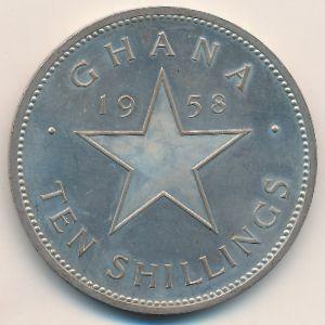 Гана, 10 шиллингов (1958 г.)