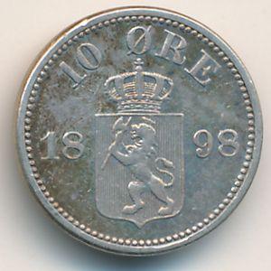 Норвегия, 10 эре (1898 г.)