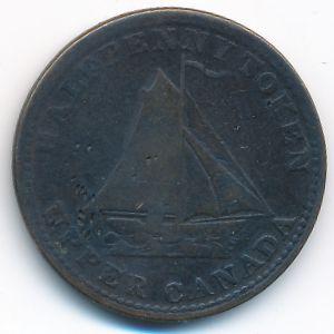Канада, 1/2 пенни (1833 г.)