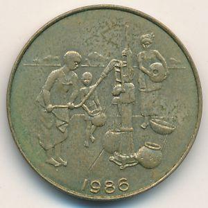 Западная Африка, 10 франков (1986 г.)