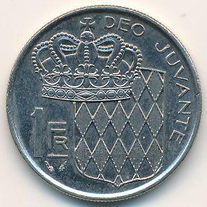 Монако, 1 франк (1989 г.)