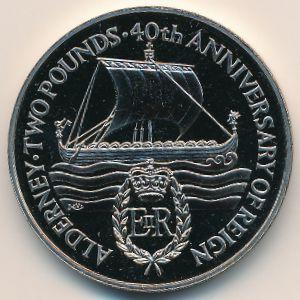 Олдерни, 2 фунта (1992 г.)