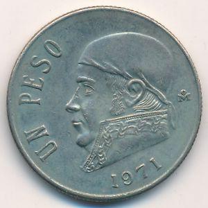 Мексика, 1 песо (1971 г.)