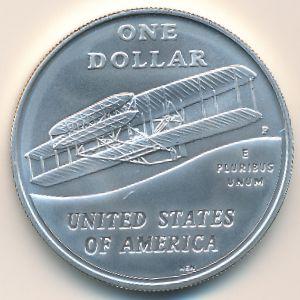 США, 1 доллар (2003 г.)