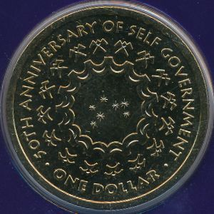 Острова Кука, 1 доллар (2015 г.)