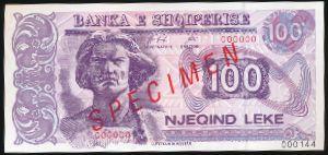 Албания, 100 лек (1996 г.)