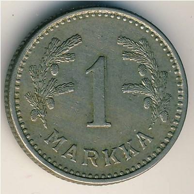 1 марка финляндия монета самодержец петр алексеевич