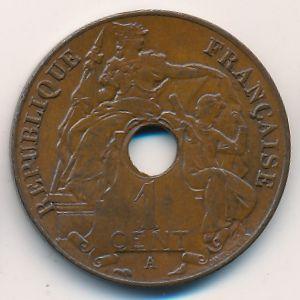 Французский Индокитай, 1 цент (1911 г.)