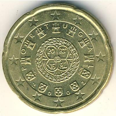 Монета 20 евроцентов 2002 года цена российский альбом с монетами