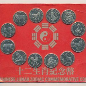 Либерия, Набор монет (2000 г.)