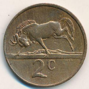 ЮАР, 2 цента (1990 г.)