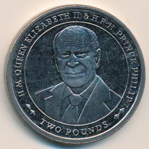 Южная Джорджия и Южные Сэндвичевы острова, 2 фунта (2017 г.)
