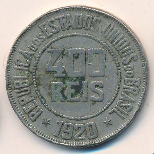 Бразилия, 400 рейс (1920 г.)