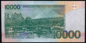 Сан-Томе и Принсипи, 10000 добра (2013 г.)