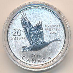 Канада, 20 долларов (2014 г.)
