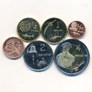 Тортуга, Набор монет (2013 г.)