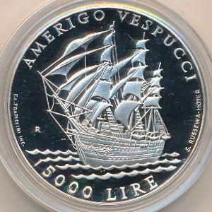 Сан-Марино, 5000 лир (1995 г.)
