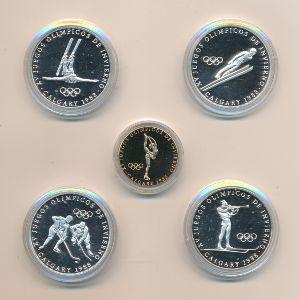 Панама, Набор монет (1988 г.)