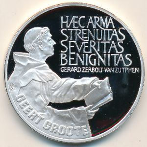 Нидерланды, 25 экю (1990 г.)