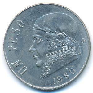 Мексика, 1 песо (1980 г.)
