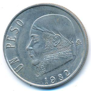 Мексика, 1 песо (1982 г.)