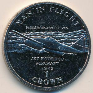 Остров Мэн, 1 крона (1995 г.)