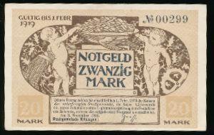 Мюнхен., 20 марок (1919 г.)