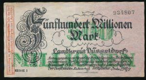 Дюссельдорф., 500000000 марок (1924 г.)