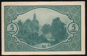 Мосбах., 5 марок (1919 г.)