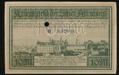 Альтенбург., 10 марок (1918 г.)