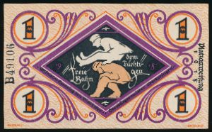 Билефельд., 1 марка (1918 г.)
