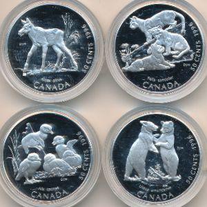 Канада, Набор монет (1996 г.)