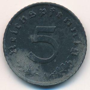 Третий Рейх, 5 рейхспфеннигов (1947 г.)