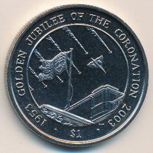 Сьерра-Леоне, 1 доллар (2003 г.)