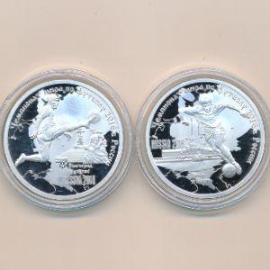 Камерун, Набор монет 4 (2018 г.)
