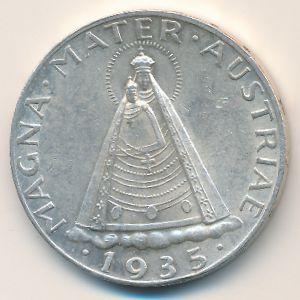 Австрия, 5 шиллингов (1935 г.)