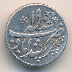 Бенгалия, 1/4 рупии (1830 г.)
