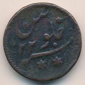 Бенгалия, 1/2 анны (1781 г.)