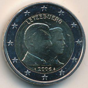 Люксембург, 2 евро (2006 г.)