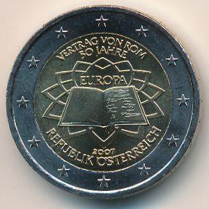 Австрия, 2 евро (2007 г.)