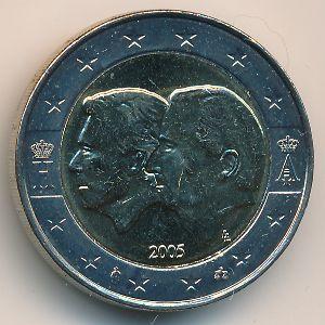 Бельгия, 2 евро (2005 г.)