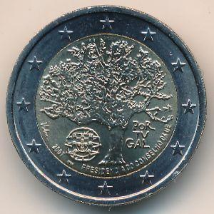 Португалия, 2 евро (2007 г.)