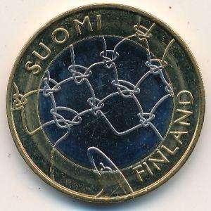 Финляндия, 5 евро (2011 г.)